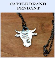 Custom Cattle Brand Pendant