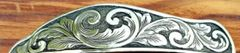 Add relief-engraved style of scrollwork to my buckle