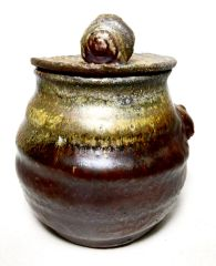 Woodfired Lidded Container