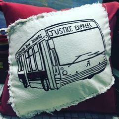 Justice Express Pillow - Crimson Ride Drivers