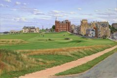 St Andrews, Scotland. Official Open Championship Print 2010