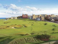 St Andrews 'View from the Old Course Hotel'