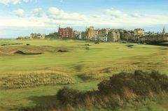 St Andrews. The Road Hole.