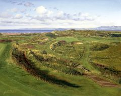 Royal Troon, Postage Stamp. 8th Hole.