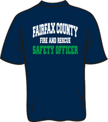 Fairfax County Fire and Rescue Safety Officer T-Shirt