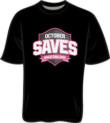 October Saves Performance T-Shirt