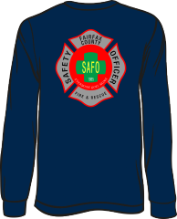 Fairfax County Safety Officer 402 Long-Sleeve T-Shirt