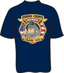 143 Patch T-shirt