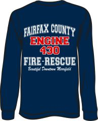 FS430 Engine Long-Sleeve T-shirt