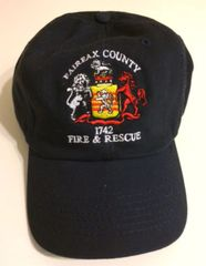 Fairfax County Fire & Rescue Hat - Low Profile Snapback