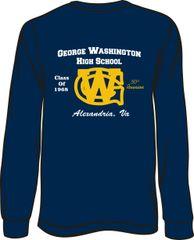 GWHS 1968 50th Reunion Long Sleeve T-Shirt