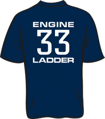 Colonial Park 33 Engine Ladder T-Shirt