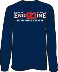 FS423 Little River Engine Long-Sleeve T-shirt
