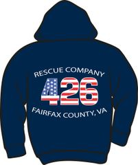 FS426 Rescue Heavyweight Zipper Hoodie