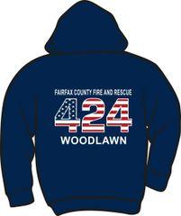 FS424 Flag Heavyweight Hoodie