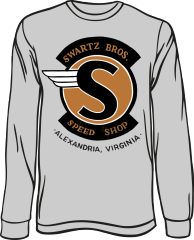 Swartz Brothers' Speed Shop Long-Sleeve T-Shirt