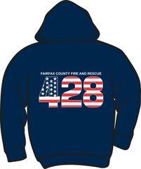 FS428 Flag Heavyweight Zipper Hoodie