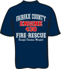 FS430 Engine T-shirt