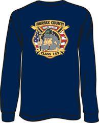 143 Patch Long-Sleeve T-shirt