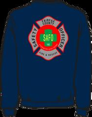 Fairfax County Safety Officer Lightweight Sweatshirt