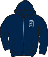 Fairfax County Safety Officer 402 Lightweight Zipper Hoodie