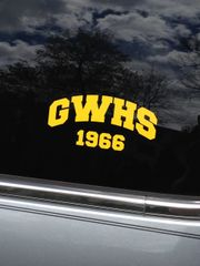 GWHS Window Sticker (any year)