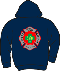 Fairfax County Safety Officer 401 Lightweight Hoodie