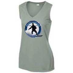 Brendan Lightweight Ladies Poly V-neck T-Shirt