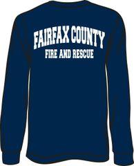 Fire & Rescue Long-Sleeve T-Shirt