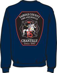FS415 Patch Heavyweight Sweatshirt