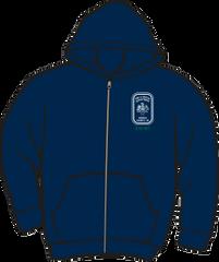 Fairfax County Safety Officer 403 Heavyweight Zipper Hoodie