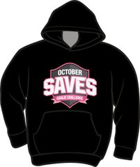 October Saves Lightweight Hoodie