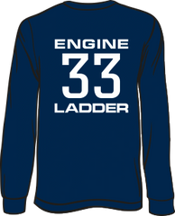Colonial Park 33 Engine Ladder Long-sleeve T-Shirt