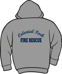 Colonial Park Fire Rescue Lightweight Hoodie