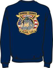 143 Patch Lightweight Sweatshirt