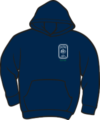 Fairfax County Safety Officer 401 Heavyweight Hoodie