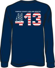 FS413 Flag Long-Sleeve T-shirt