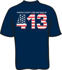 FS413 Flag T-shirt