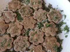 Parsley & Mint (Freshening) Cookies