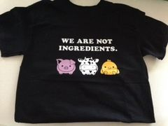 We Are Not Ingredients T shirt