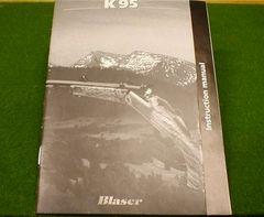 Blaser K95 Factory Instruction Book