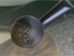 Blaser Steel Hand Engraved Bolt Knob for R8 & R93