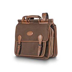 Blaser Leather & Twill Briefcase