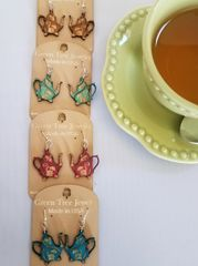 Tea Pot Earrings