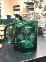 Glass Mug (Green)