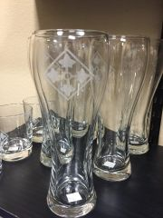 4th ID Pilsner Glass