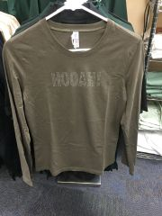Long sleeve Hooah shirt