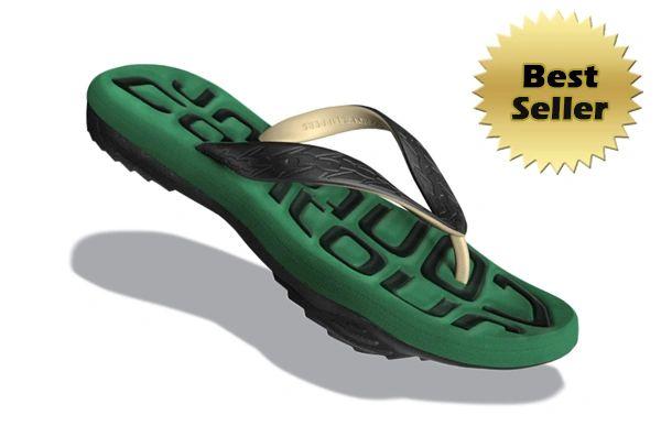 Contour 7 - Black/Green