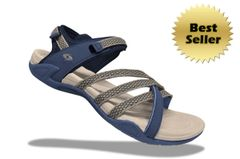 Lady X3 Sandals - Gray/Navy