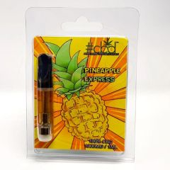#CBD - FULL SPECTRUM EGO VAPE PEN CARTRIDGE - PINEAPPLE EXPRESS - 1000MG CBD / 1ML